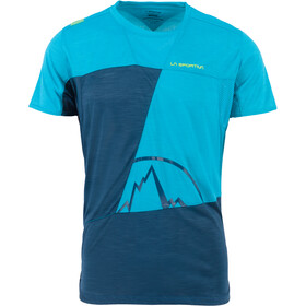 La Sportiva Workout T-Shirt Homme, opal/tropic blue